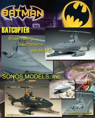 Batman toys for Mattel