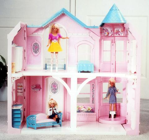 Barbie Doll Play House with Working Elevator and Furniture - SONOS