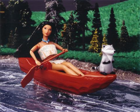 Disney's Pocahontas and Meeko Barbie doll