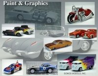 Paint and Graphics on Hot Wheel Cars