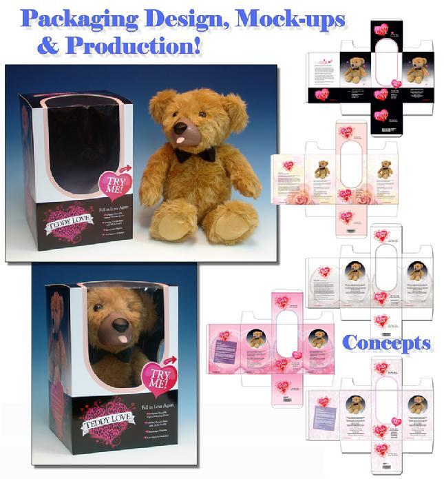 Teddy Love Packaging Design