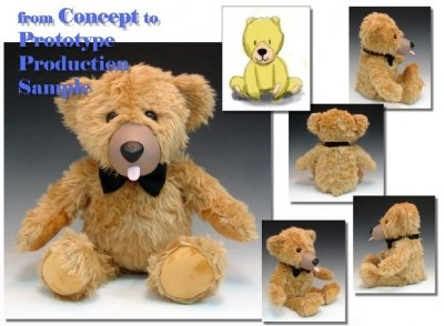 Teddy Love - Concept of Plush to Manufacturing & Production