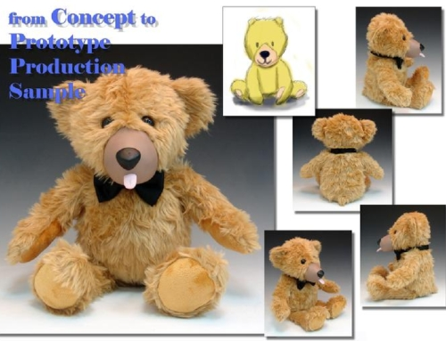 Teddy Love – Concept of Plush to Manufacturing & Production