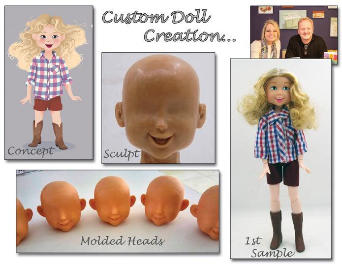 Custom Action Figure - Joyful Jenny Doll