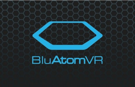 BluAtom Hex Logo Design