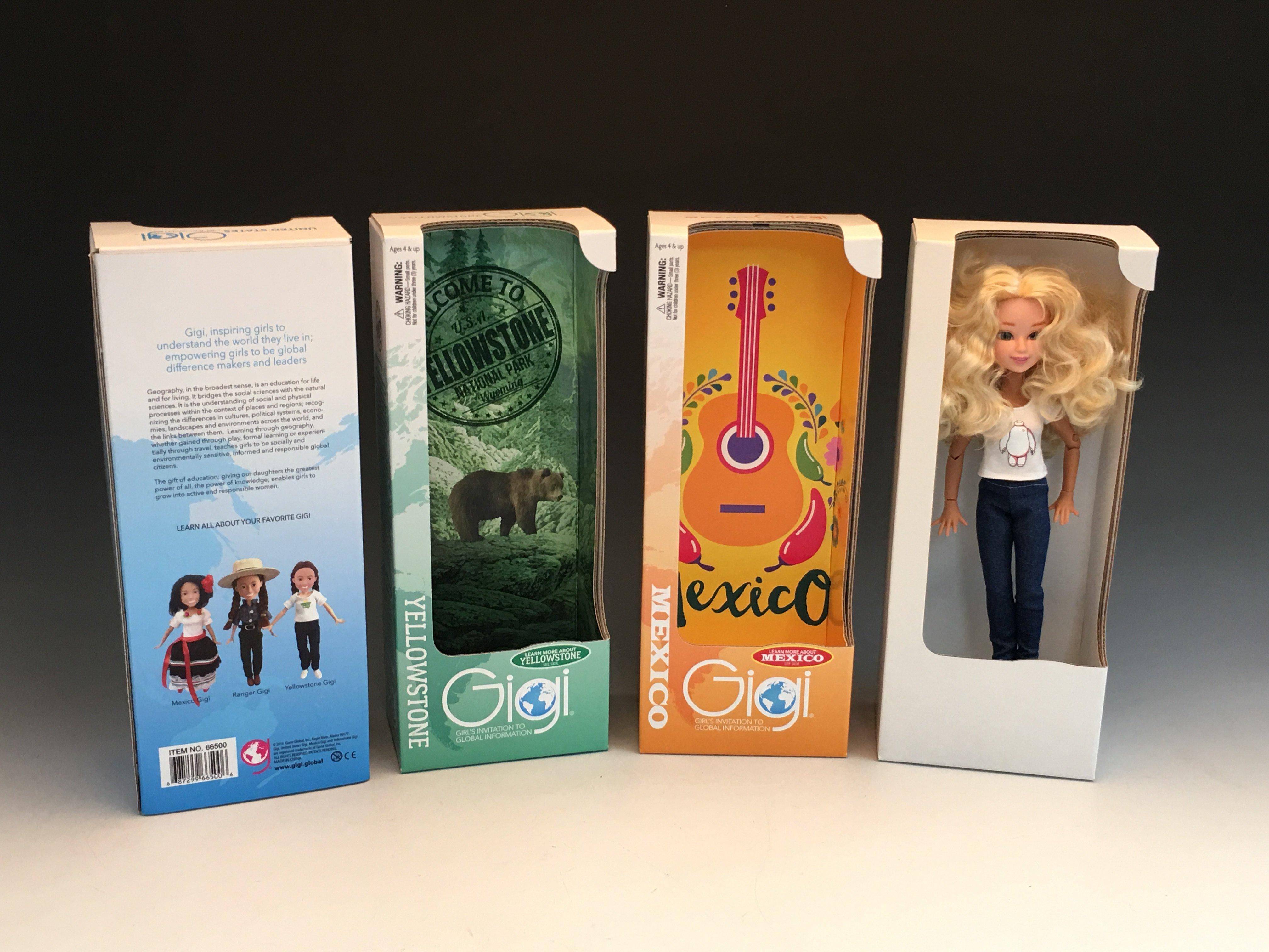 Packaging samples