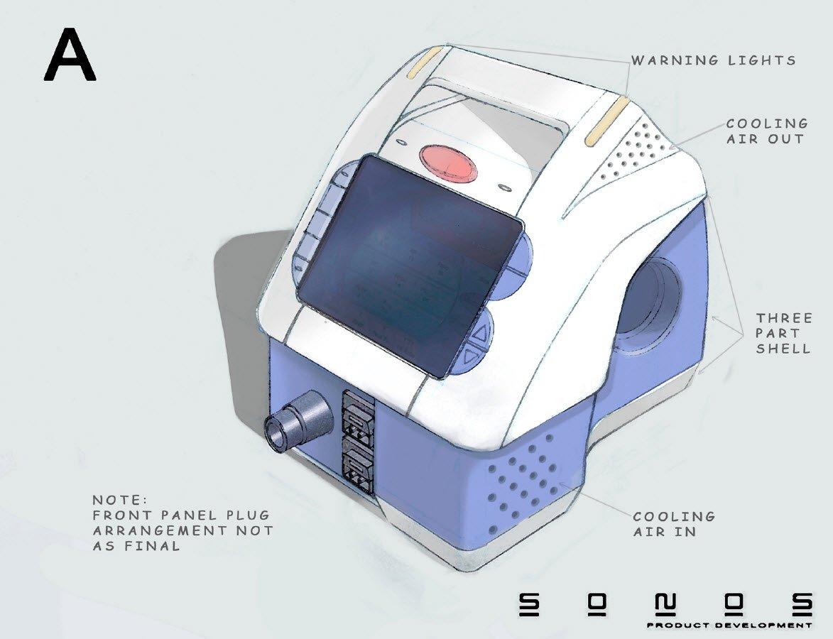 Medical device design concept A