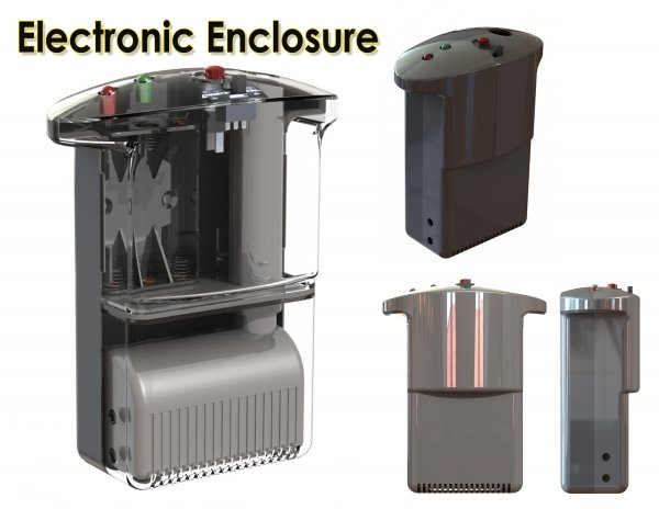 Plastic engineered Electronics housing Enclosure