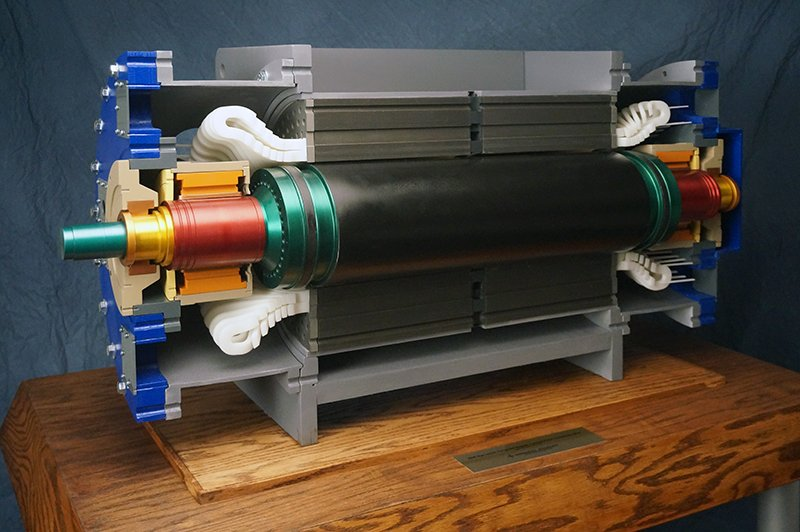 Engineering model of electrical generator