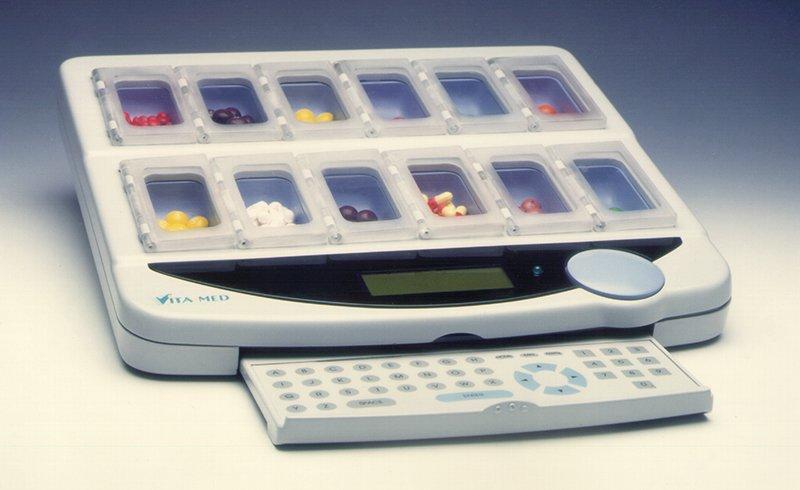Prototype Model Vita-Med Medical Pill Dispenser