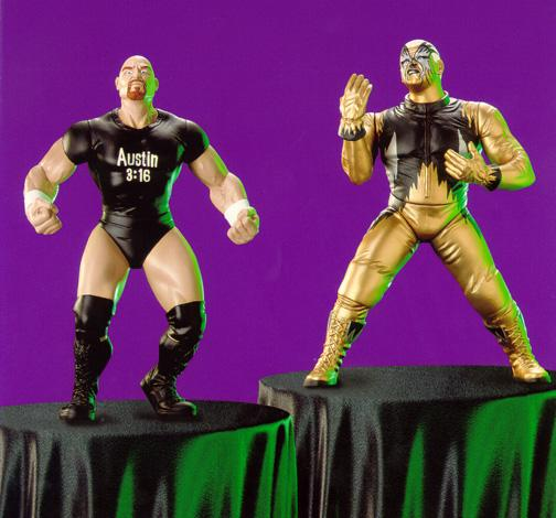 Custom Wrestling Action Figure