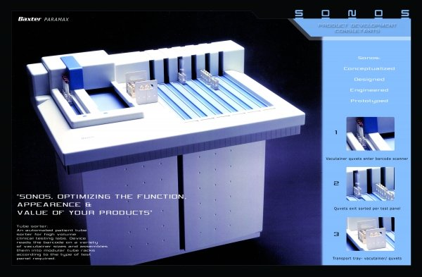 Baxter Medical Device prototype and design