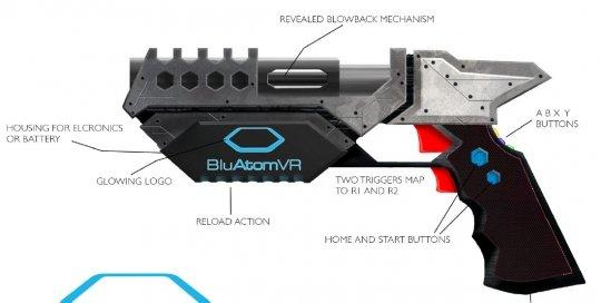 VR Emulator Gun – Concept design