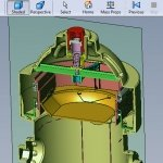 Puppy Pad engineering cross section-solidworks CAD