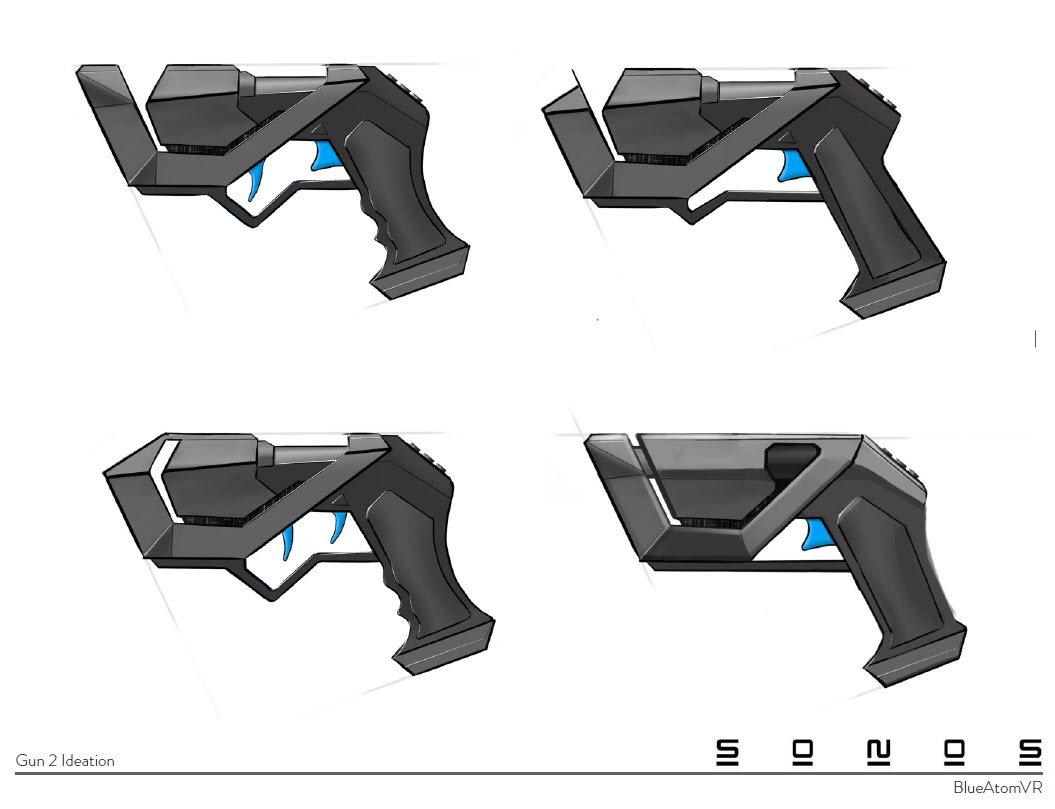 Virtual Reality Gun controller Concept design