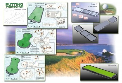 golf invention promotion