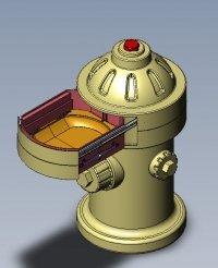 puppy pad product engineering, product design 3D CAD