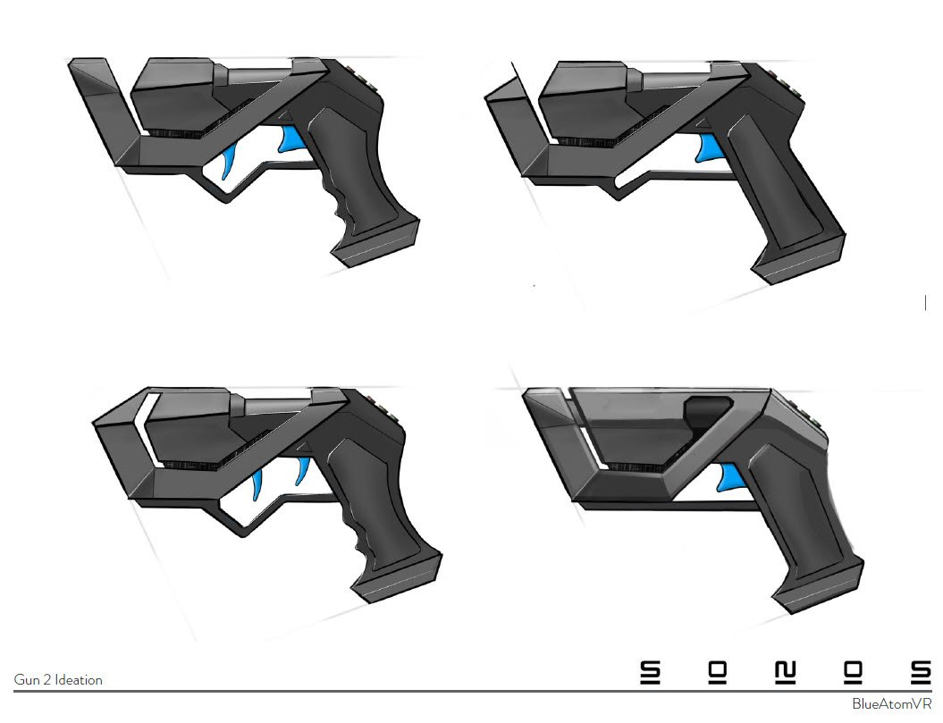 Virtual Reality Gun controller Concept design
