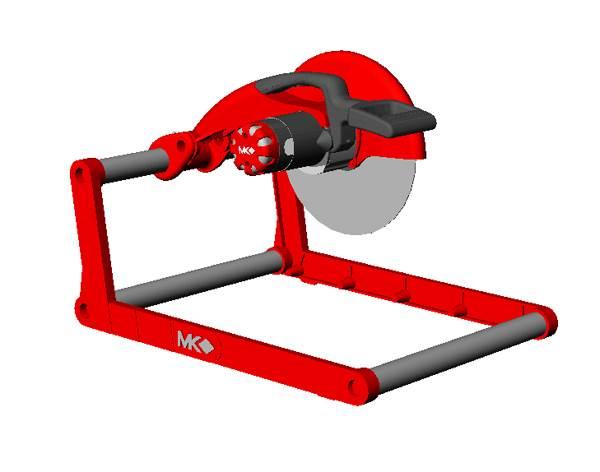 Concept design, industrial design, tool design, cement saw design, concrete saw design