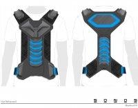 VR Controller Vest Design – prototype concept designs