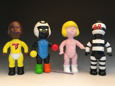 Moundverse action figure doll Prototypes painted