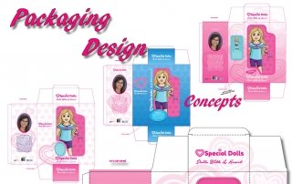 Eliana 18 inch Doll – Packaging Design