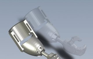 Prostetic Doll Arm 3D CAD model