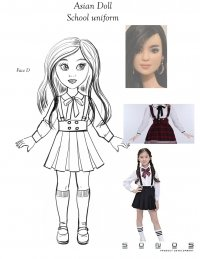 American Girl Doll-manufacturing design-School Uniform-SONOS Product Development