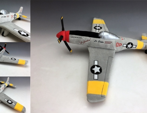 Custom Plush Airplane