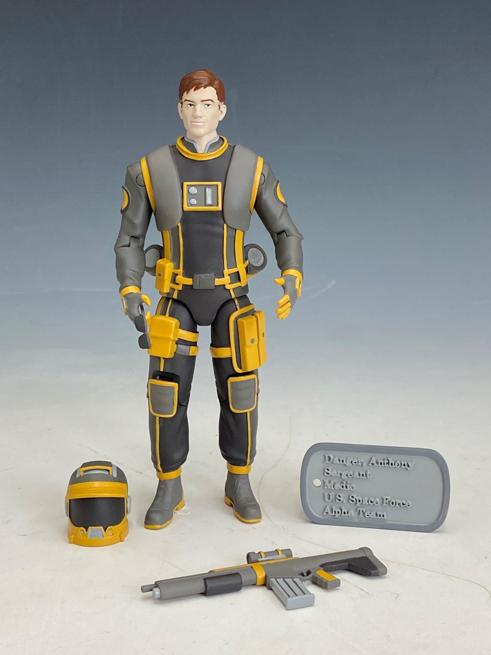 Anthony Danger 6 inch custom action figure