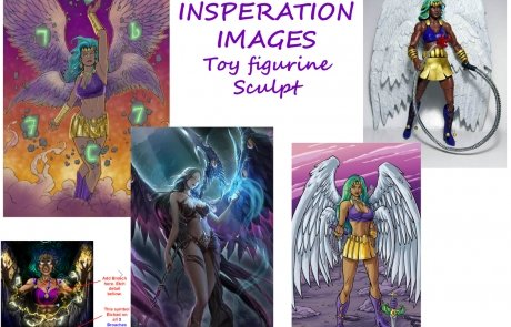 Toy Figurine Sculpt Angel Design Inspiration