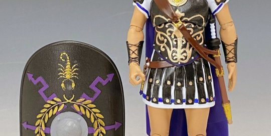 Action Figure Roman prototype