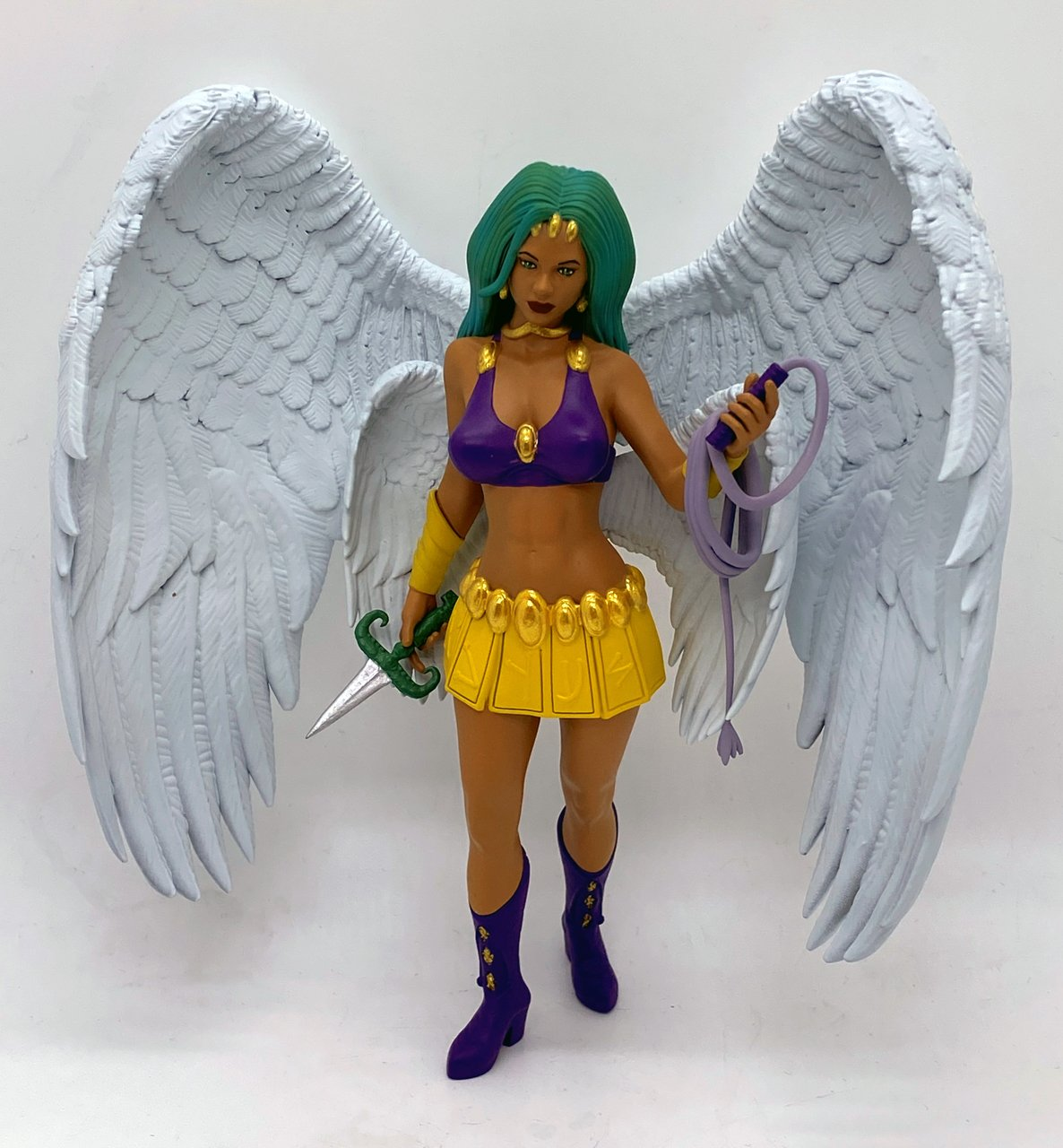 Angel sculpt prototype Figurine painted