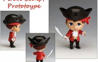Toy Pirate Sculpt Prototype