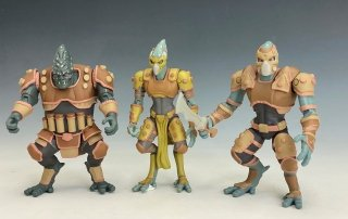 Opposition Action Figure Set
