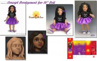 18 inch doll - Concept Designs- Sonos Product Development