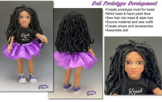Prototype Kissed by the Sun Doll