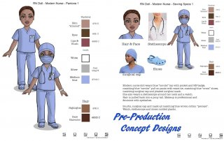 RN Doll Pre-Production Specifications