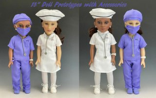 Custom 18 inch Doll Prototypes