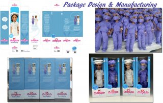 Packaging design & Doll Manufacturing