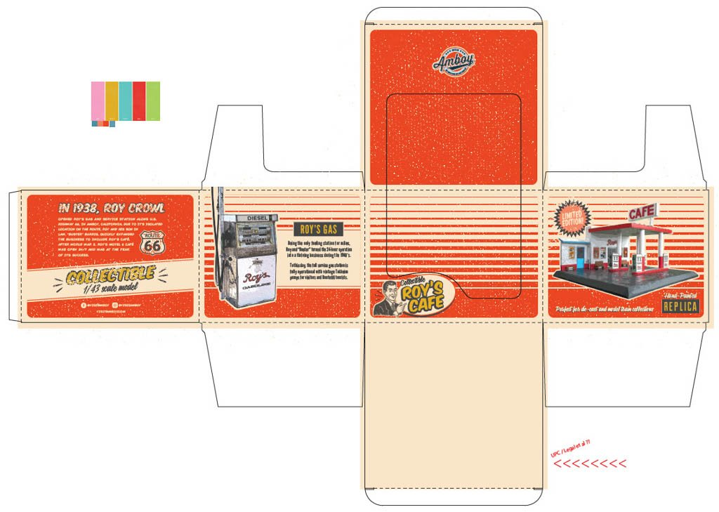 Amboy Cafe product Packaging Design