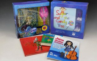 Kids Book Illustrations & Toy sets_