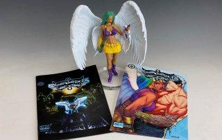 Comic book Angel illustration