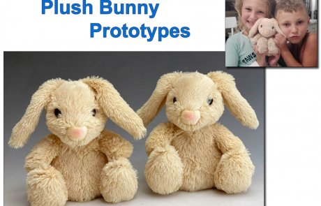 Custom Plush Toy Prototype