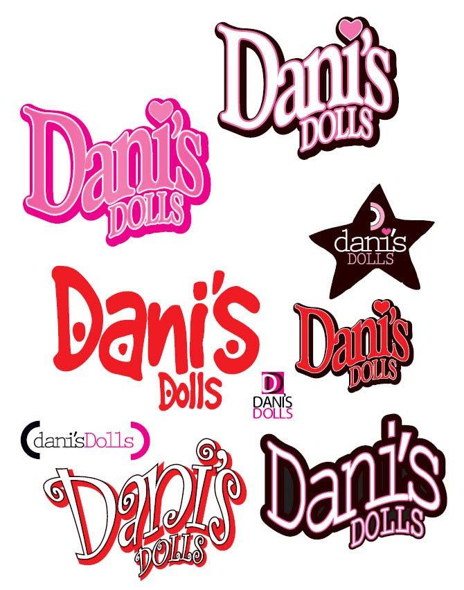 Dani's Doll Logo Design concepts