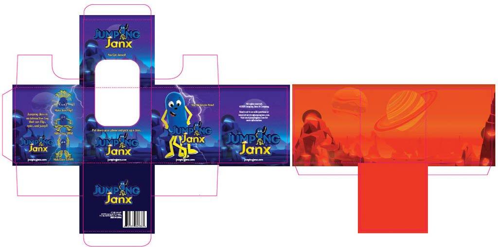 Janx Game Piece - Packaging Design