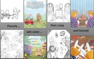 Book Illustrations & color Design